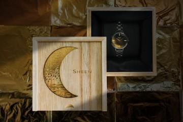 """金箔之耀,莳绘之雅 卡西欧SHEEN推出莳绘限量版腕表"""""""
